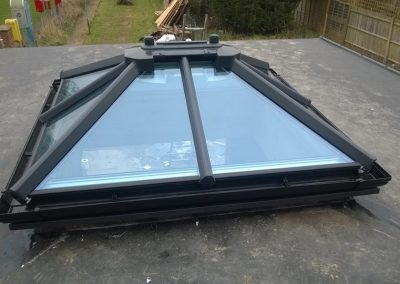 Roof Lantern in place.